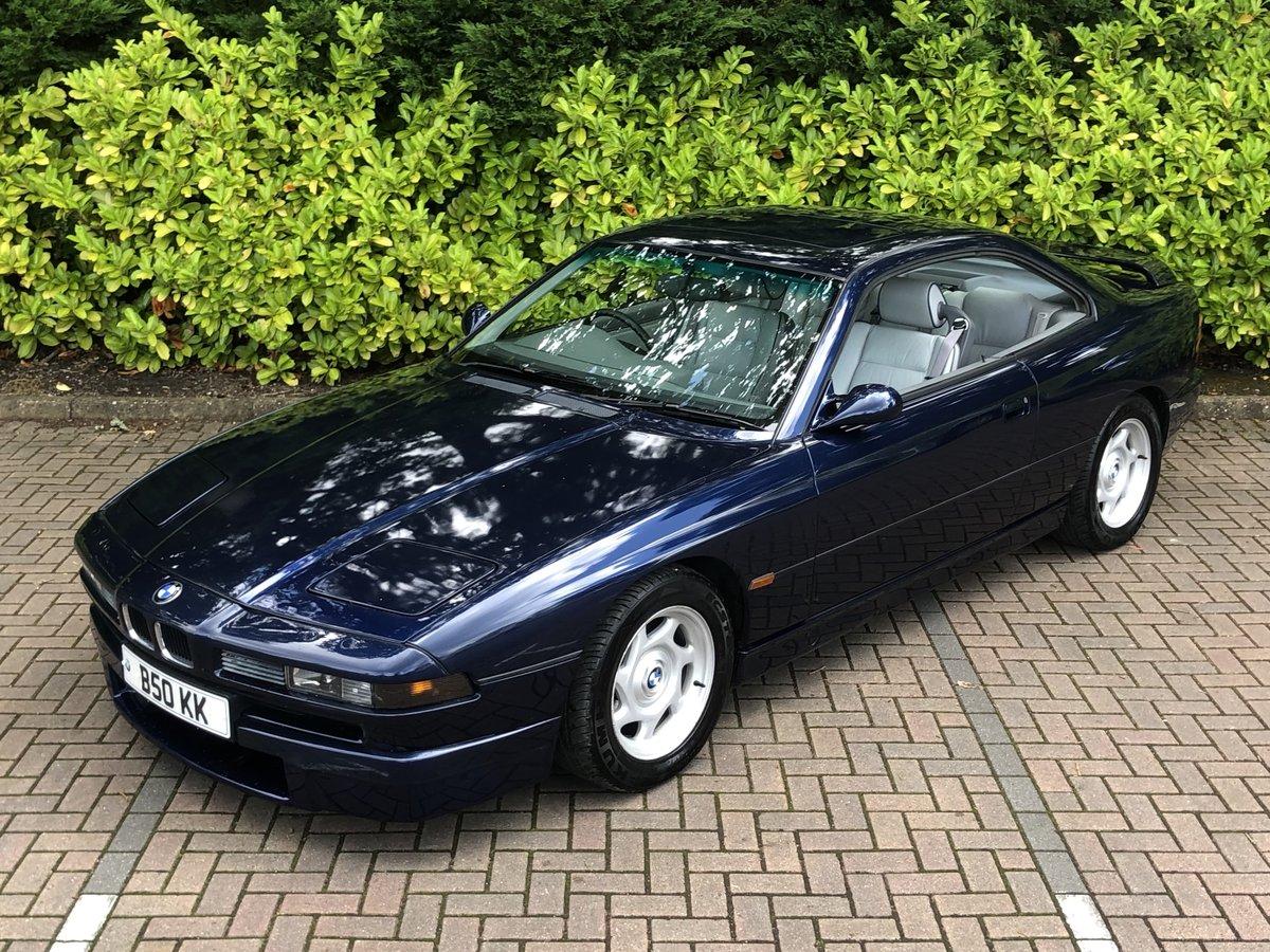 1993 BMW 8 SERIES 850CI // AUTO // V12 // 5.0L // 295 BHP // RARE For Sale (picture 1 of 6)