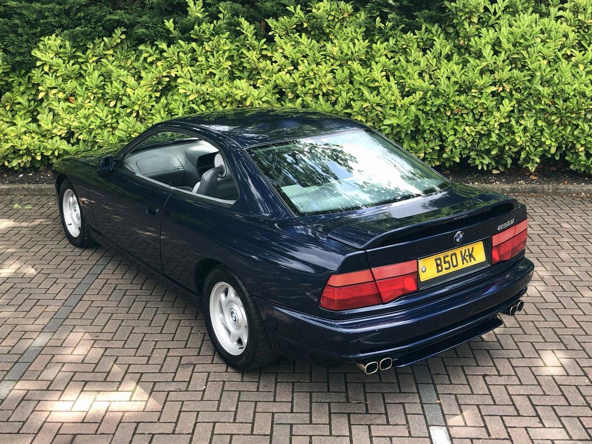1993 BMW 8 SERIES 850CI // AUTO // V12 // 5.0L // 295 BHP // RARE For Sale (picture 3 of 6)