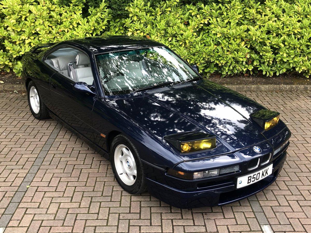 1993 BMW 8 SERIES 850CI // AUTO // V12 // 5.0L // 295 BHP // RARE For Sale (picture 4 of 6)