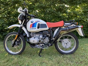 1982 BMW R/80 Paris Dakar