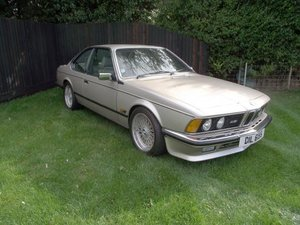 1986 BMW 635 CSi For Sale by Auction