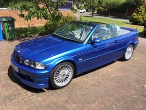 2003 Stunning E46 BMW Alpina B3S 3.4 Convertible For Sale