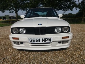 1989 BMW 325i M-tech 2 Alpine white 3 owners Full MOT For Sale