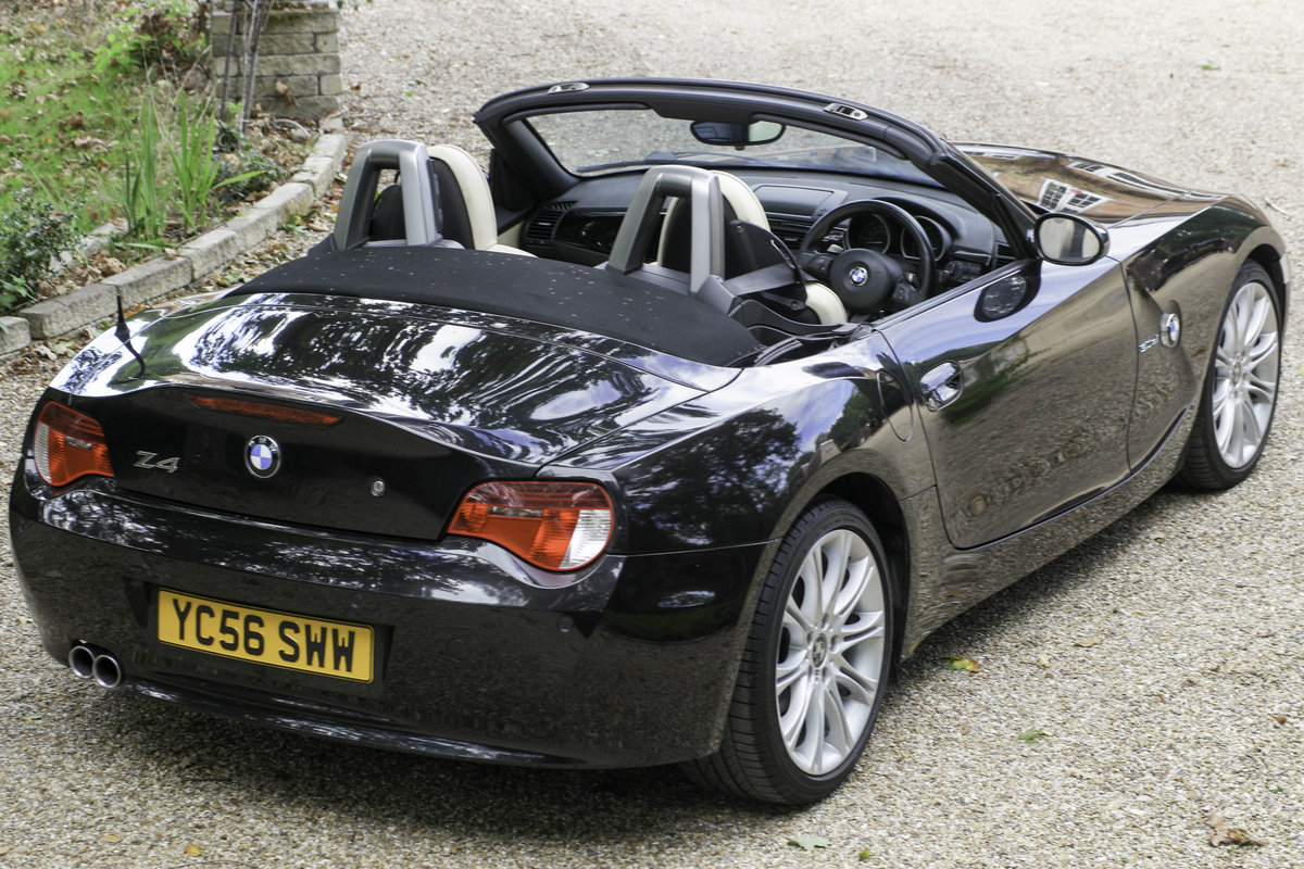 2006 BMW Z4 3.0si sport individual roadster, 1 of 4 For Sale (picture 1 of 6)