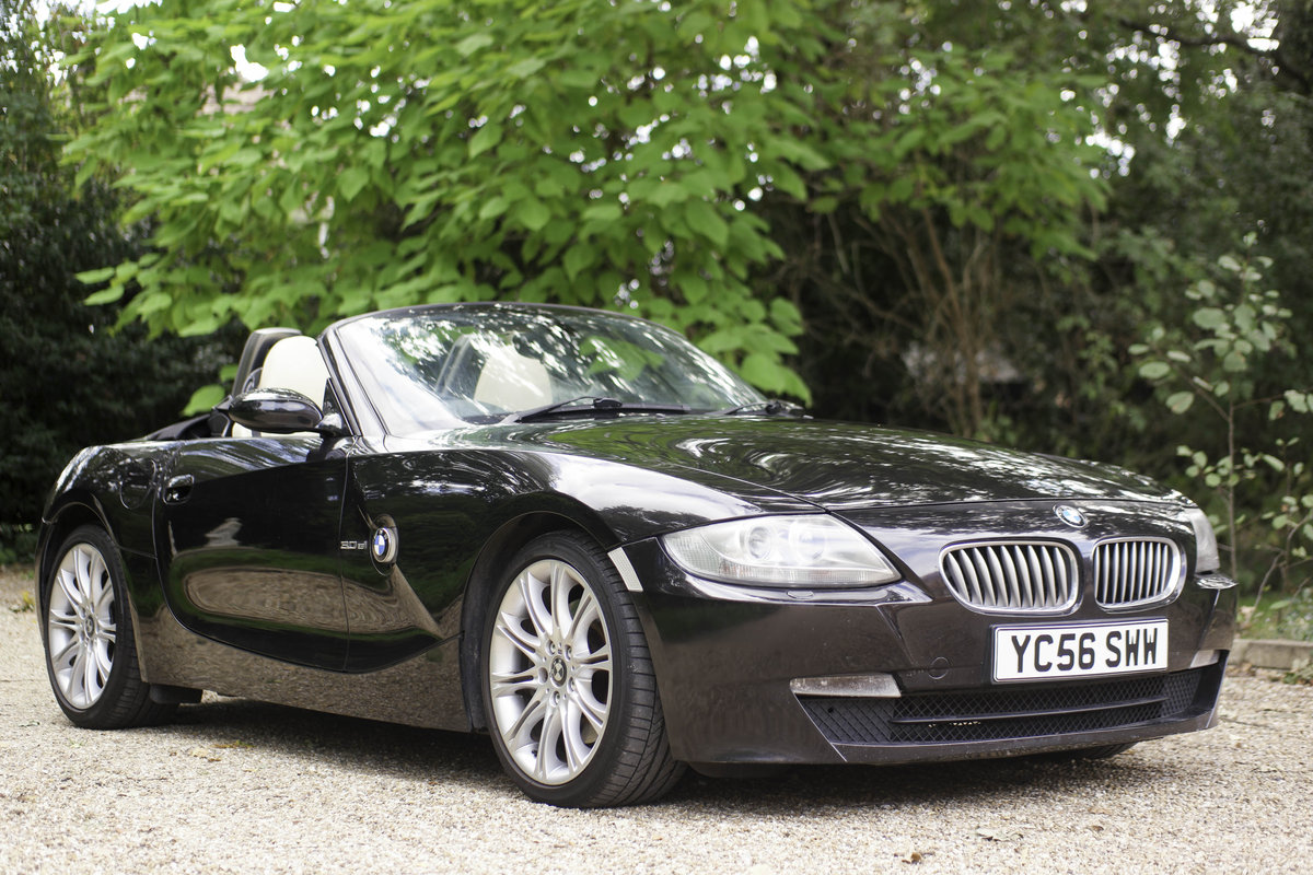 2006 BMW Z4 3.0si sport individual roadster, 1 of 4 For Sale (picture 2 of 6)
