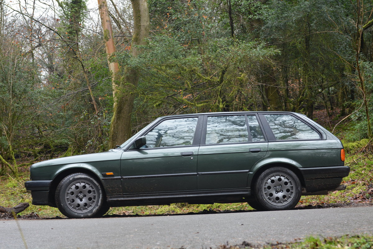1988 BMW E30 325i Touring, malachite green beige sports For Sale (picture 6 of 6)