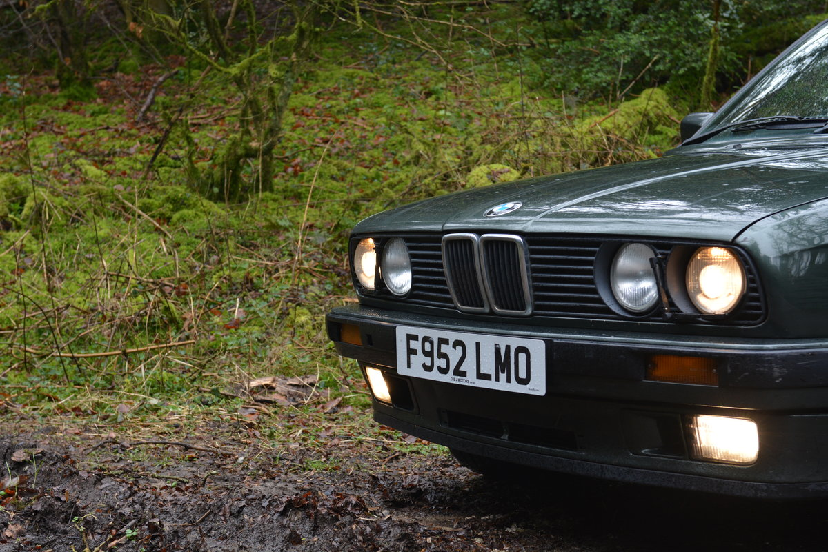 1988 BMW E30 325i Touring, malachite green beige sports For Sale (picture 5 of 6)