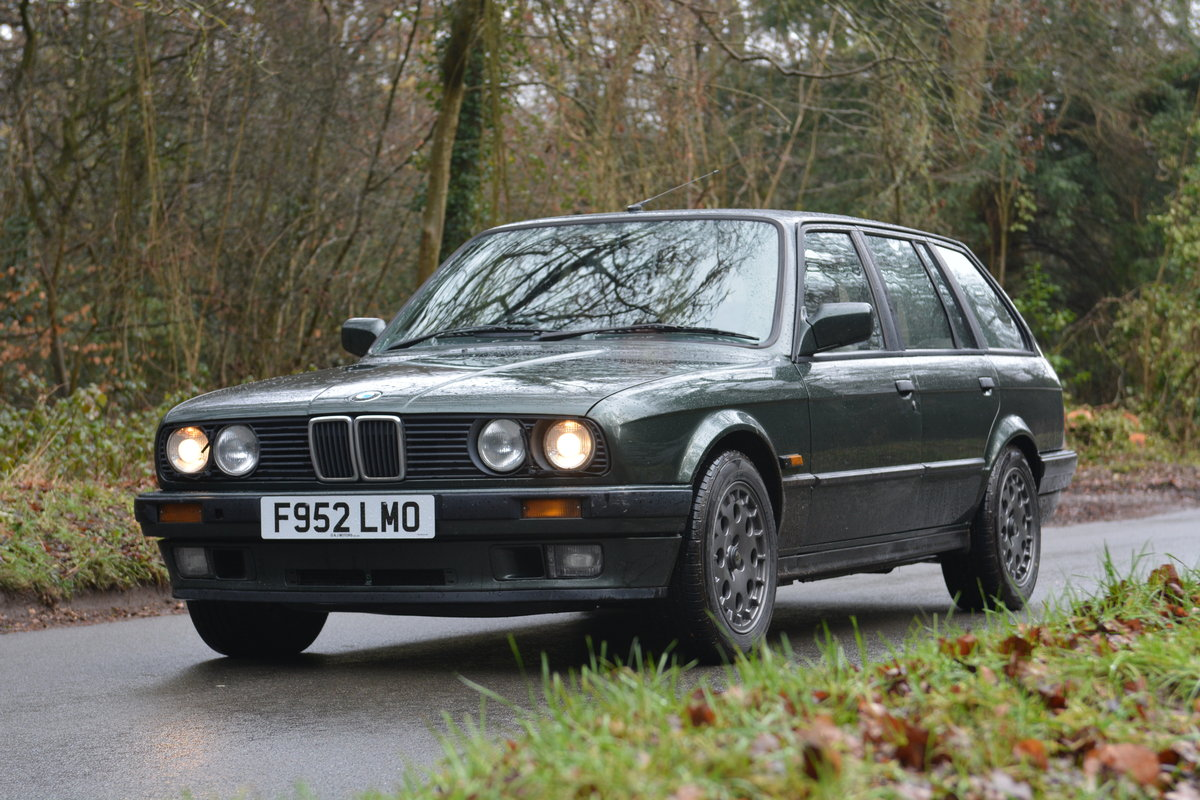1988 BMW E30 325i Touring, malachite green beige sports For Sale (picture 1 of 6)