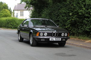 1983 BMW 628CSI - 1 lady owner 33 years, full BMW service history SOLD