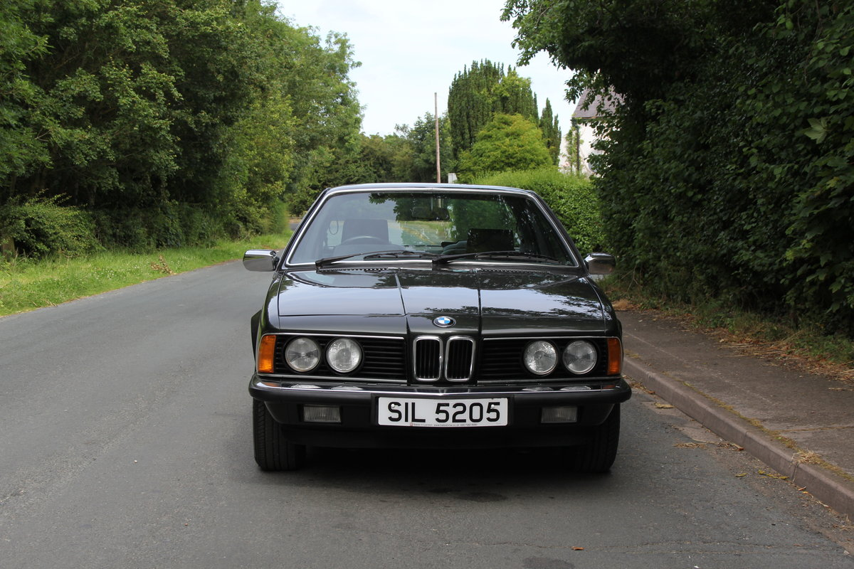 1983 BMW 628CSI - 1 lady owner 33 years, full BMW service history SOLD (picture 2 of 12)