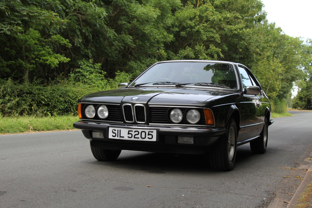 1983 BMW 628CSI - 1 lady owner 33 years, full BMW service history SOLD (picture 3 of 12)