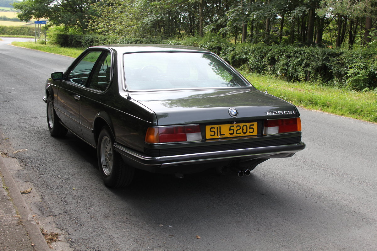 1983 BMW 628CSI - 1 lady owner 33 years, full BMW service history SOLD (picture 4 of 12)