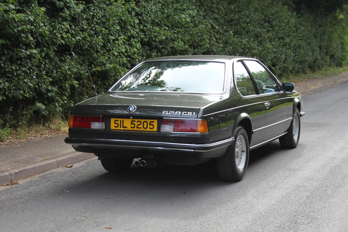 1983 BMW 628CSI - 1 lady owner 33 years, full BMW service history SOLD (picture 5 of 12)