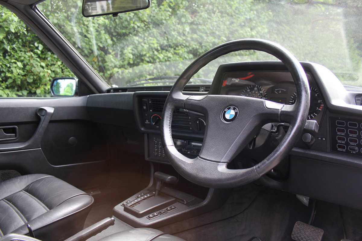 1983 BMW 628CSI - 1 lady owner 33 years, full BMW service history SOLD (picture 6 of 12)