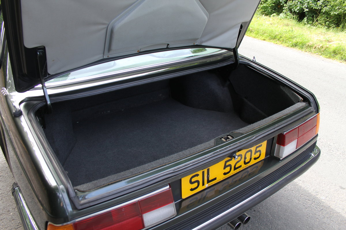 1983 BMW 628CSI - 1 lady owner 33 years, full BMW service history SOLD (picture 12 of 12)