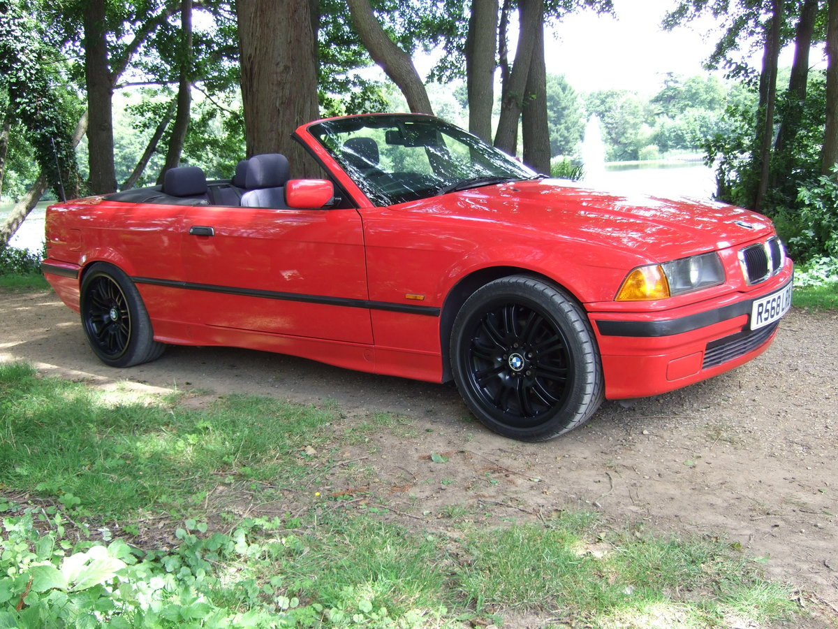 BMW 318 cabriolet 1998 For Sale (picture 1 of 6)