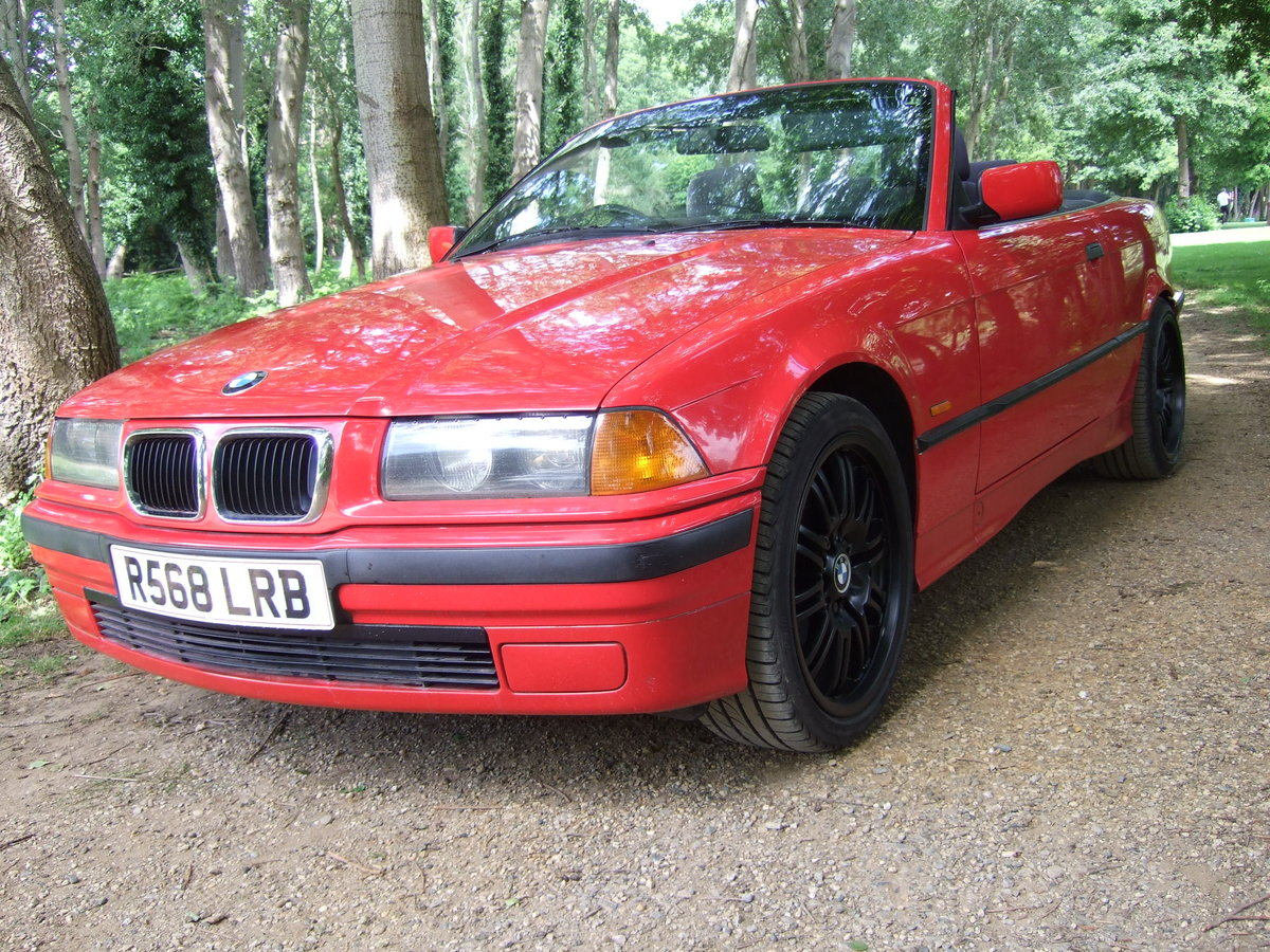 BMW 318 cabriolet 1998 For Sale (picture 2 of 6)