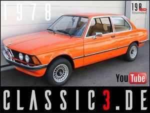 "1978 BMW 320 /4 AUTOMATIC E21 ""JÄGERMEISTER""-ORANGE 13"