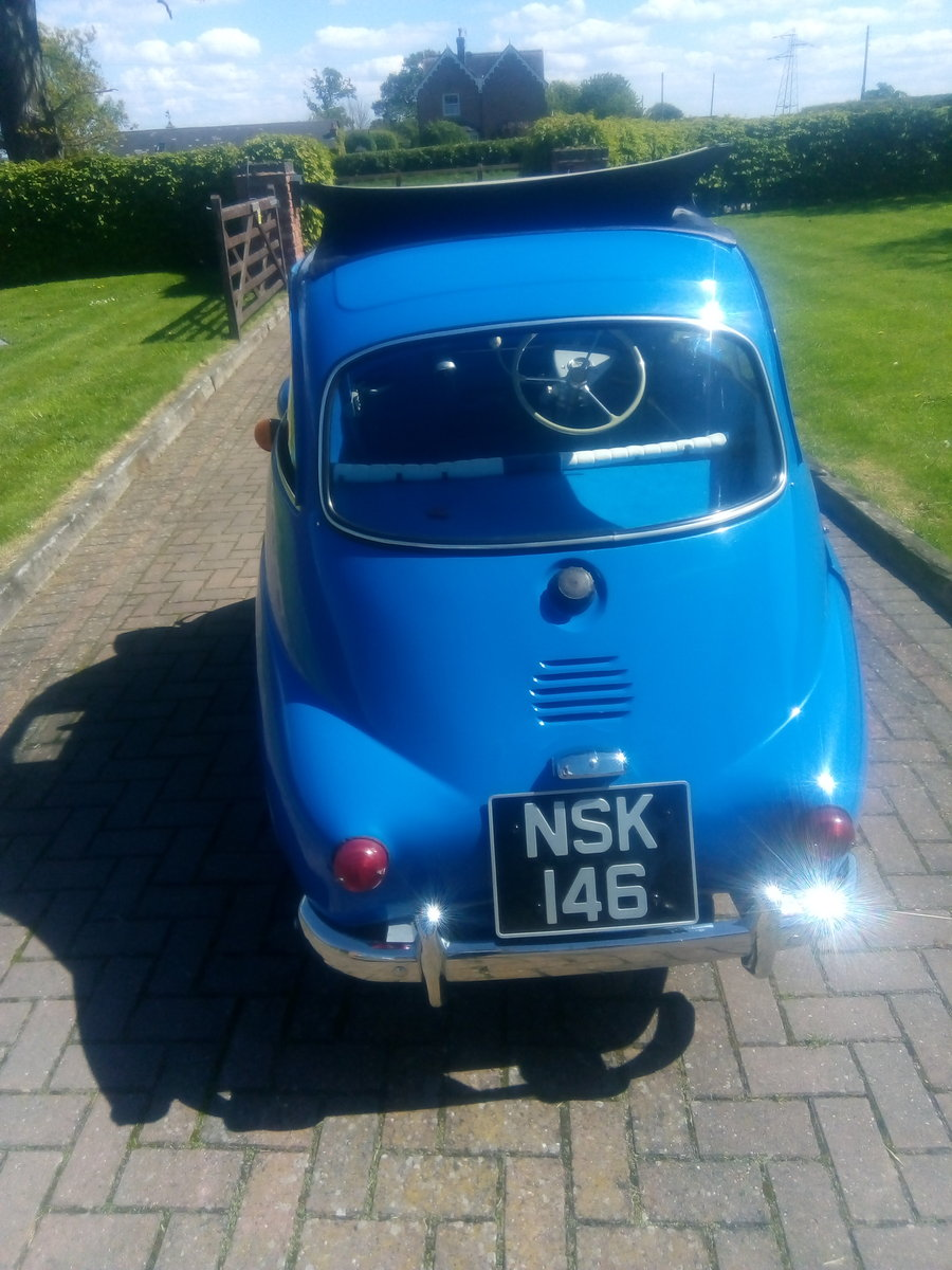1961 r.h.d isetta 300 bubble car For Sale (picture 1 of 6)