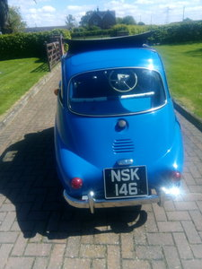 1961  r.h.d isetta 300 bubble car