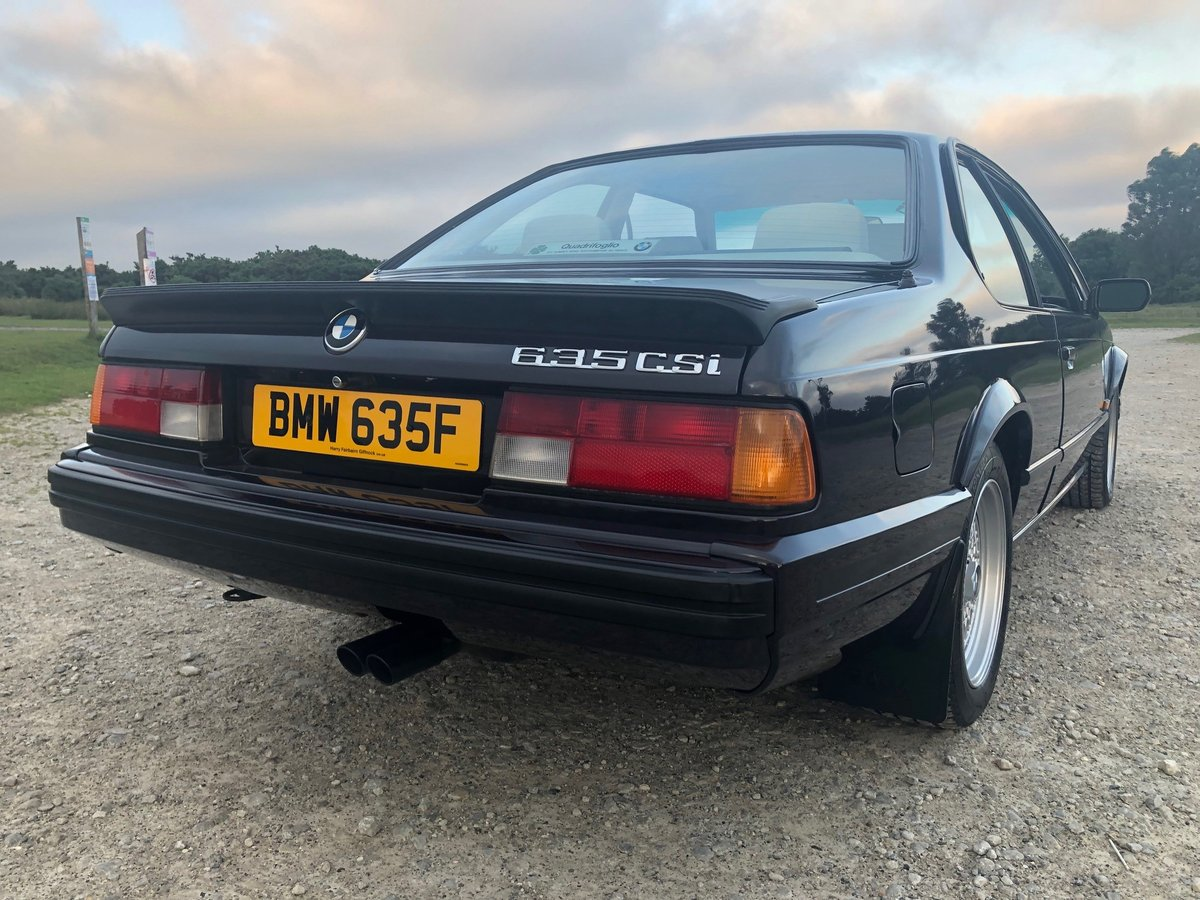 1989 BMW 635CSi Motorsport Edition SOLD by Auction (picture 3 of 6)