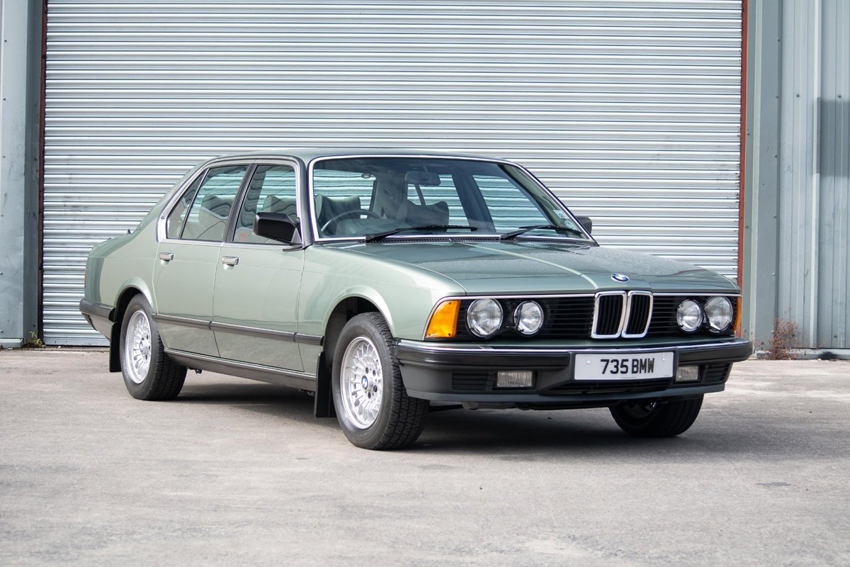 1985 BMW 735i SE Auto (E23) SOLD by Auction (picture 1 of 6)