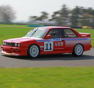 BMW M3 E30 ROBERTO RAVAGLIA RACE CAR RED/WHITE 1 OF 16 RARE  For Sale