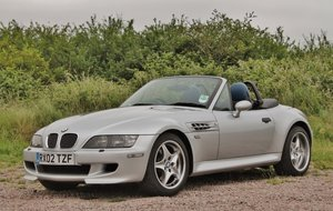 2002 BMW Z3M Roadster S54 For Sale by Auction