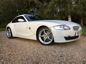 2007 BMW Z4 Coupe 3.0 litre Si Sports Coupe Manual  For Sale