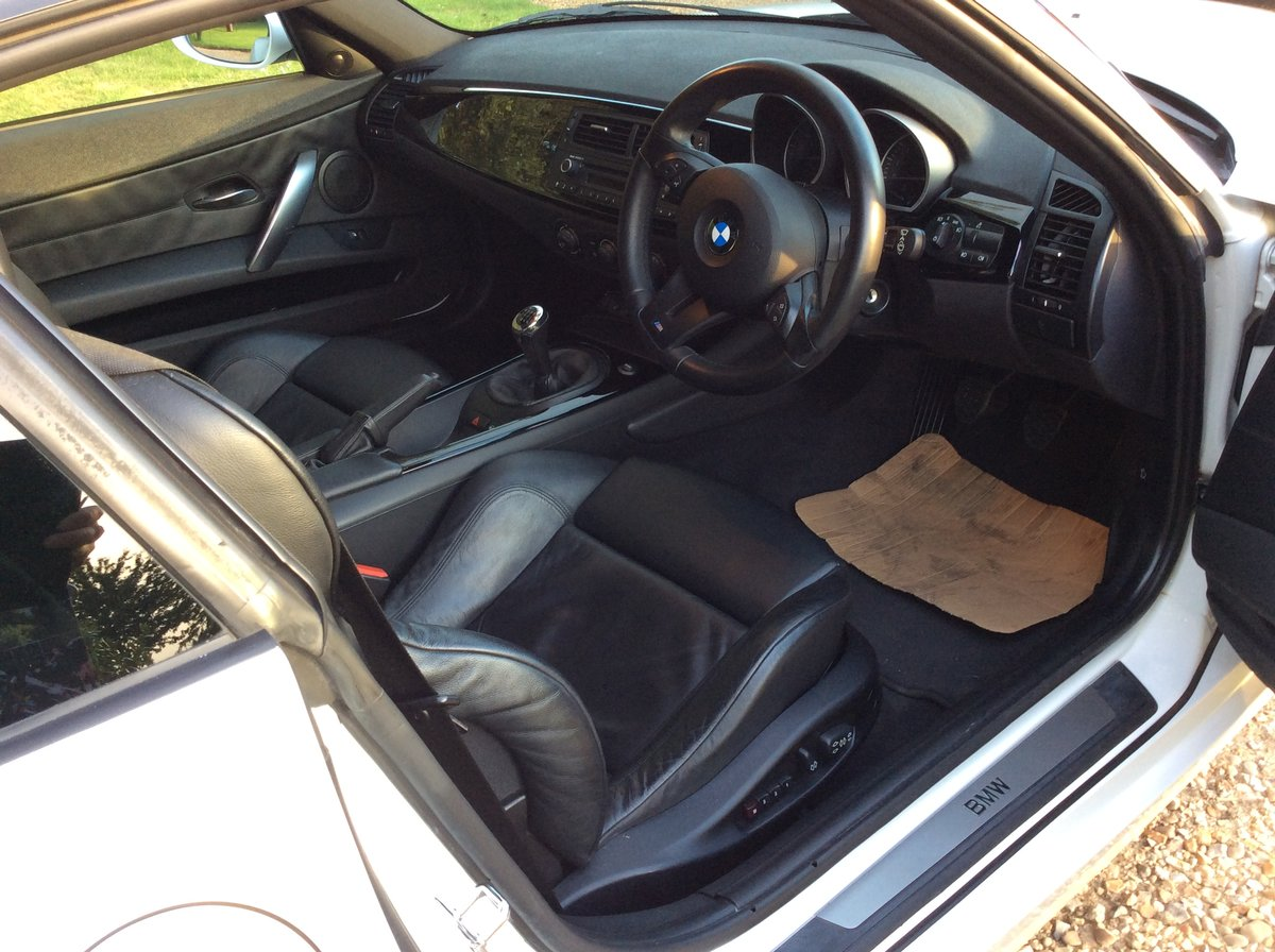 2007 BMW Z4 Coupe 3.0 litre Si Sports Coupe For Sale (picture 2 of 6)