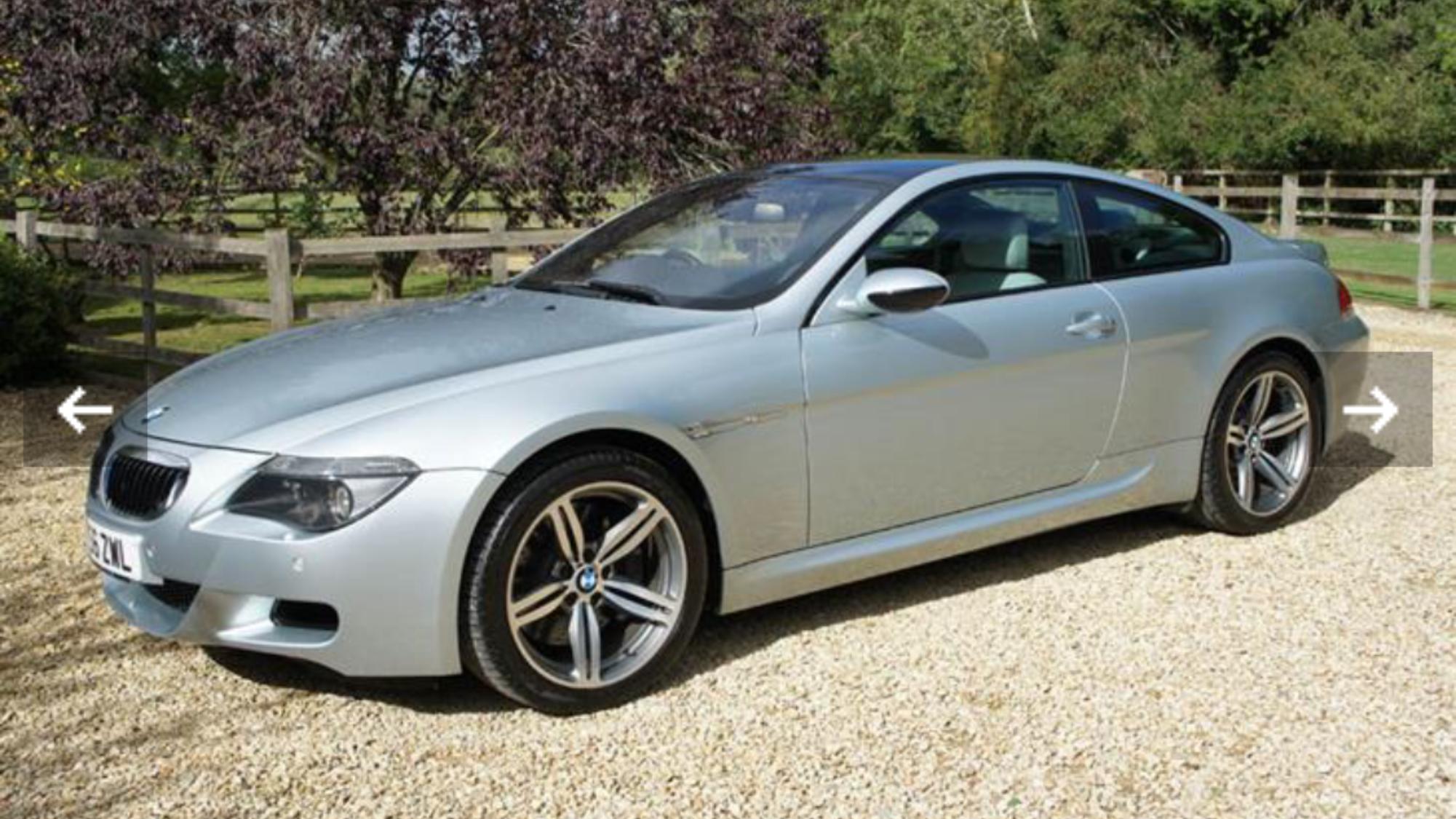 2007 BMW M6 V10 5.0 LOW MILEAGE - HUGE SPEC SOLD (picture 1 of 6)