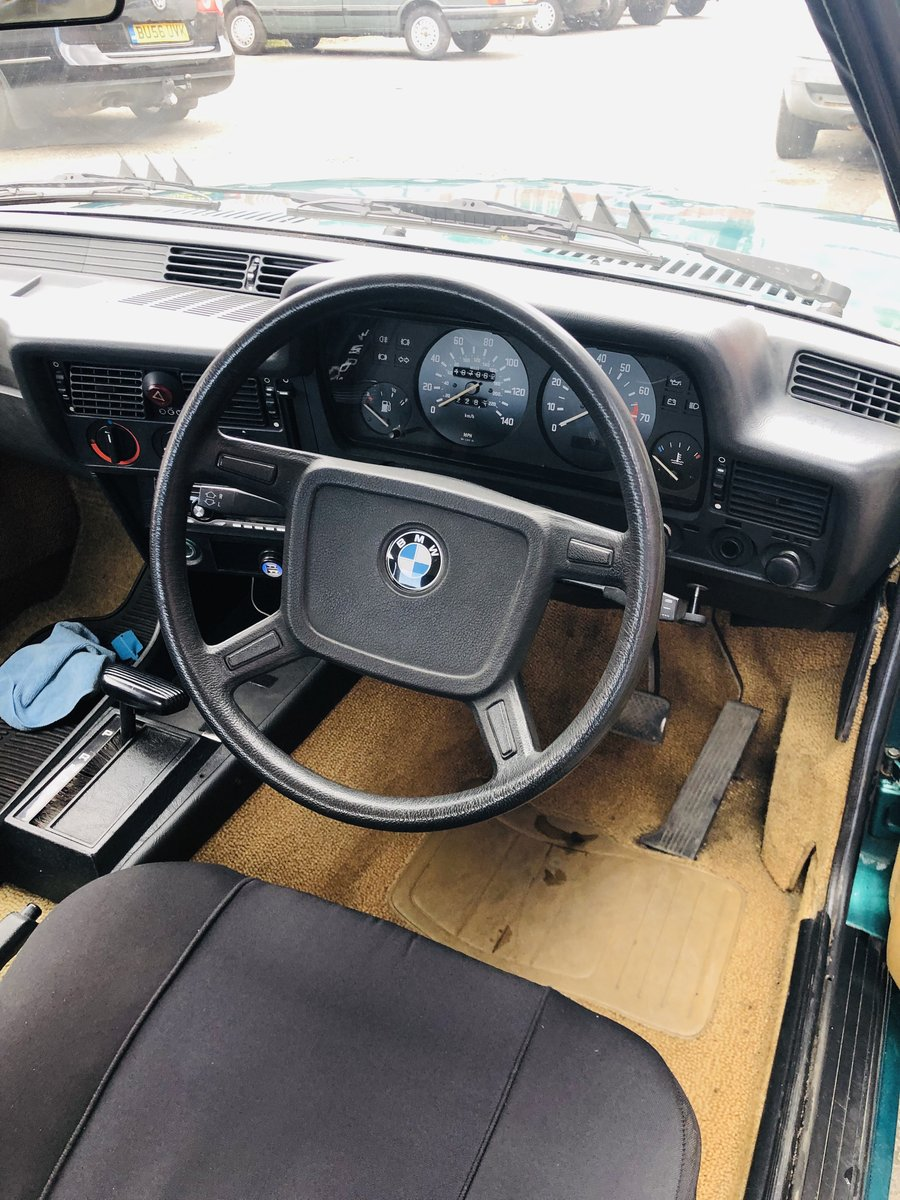 1980 BMW E21 323 AUTO - STUNNING VEHICLE, HUGE EXPENDITURE SOLD (picture 6 of 6)