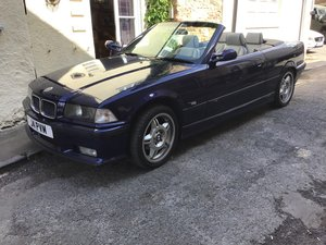 1996 BMW Convertible with factory fitted M3 trim. For Sale