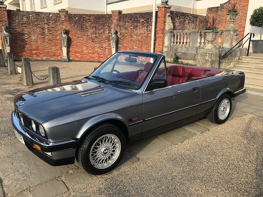 Bmw 325i For Sale >> 1990 Bmw 325i Convertible Manual For Sale By Auction Car And Classic