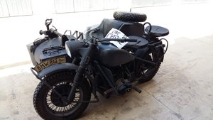 1942 BMW R75 - WW2 German Motorcycle with Sidecar
