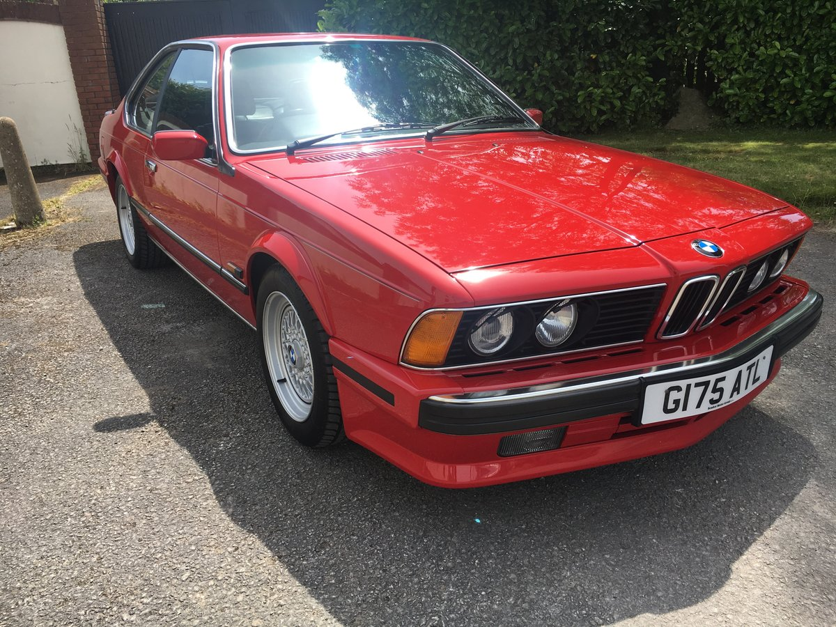 1989 ONE LADY OWNER,JUST 49K FULL BMWSH,STUNNING CAR For Sale (picture 1 of 6)