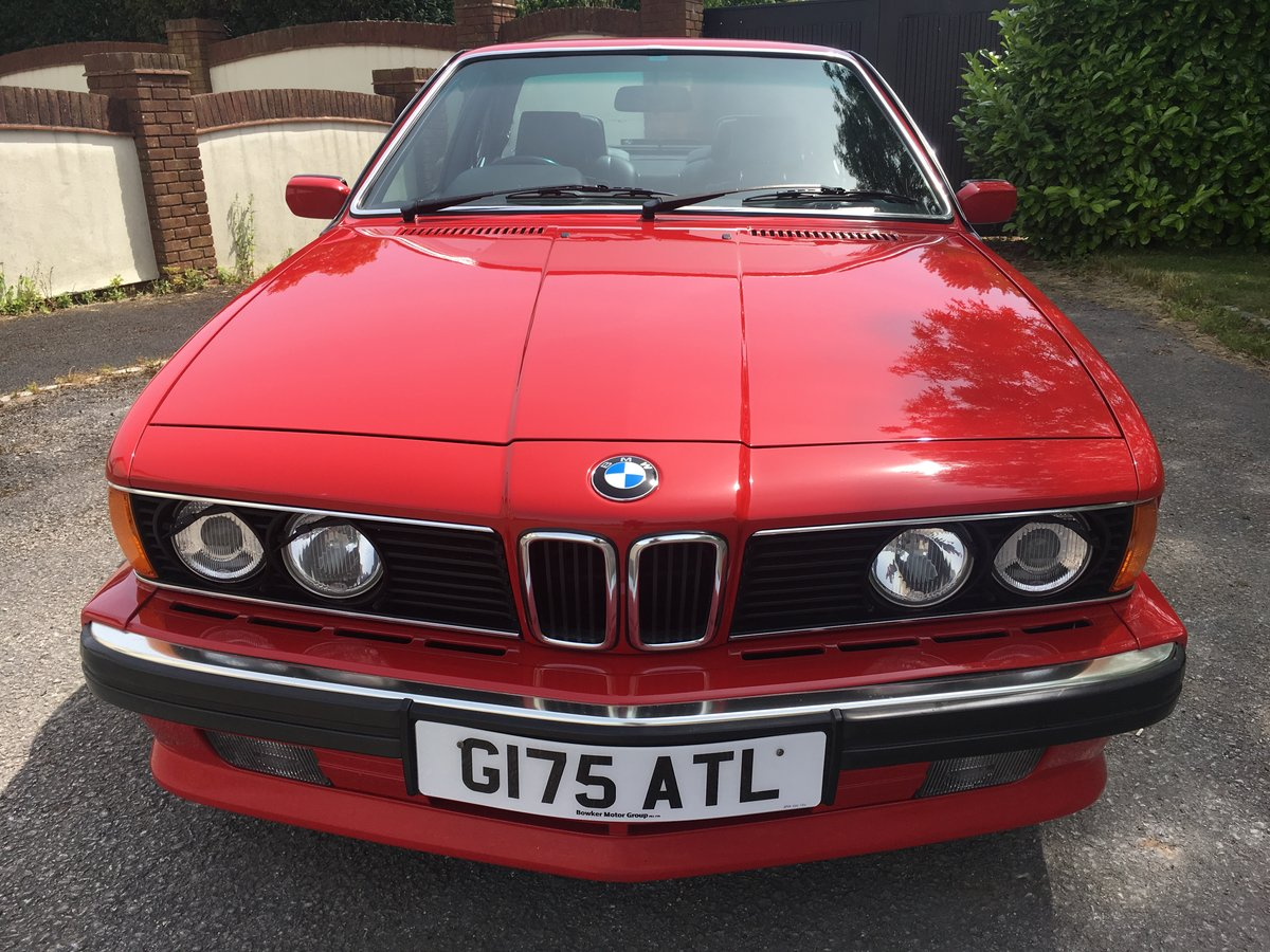 1989 ONE LADY OWNER,JUST 49K FULL BMWSH,STUNNING CAR For Sale (picture 2 of 6)