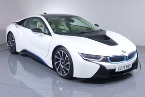2015 BMW i8 Coupe Hybrid PHEV LOW MILEAGE For Sale