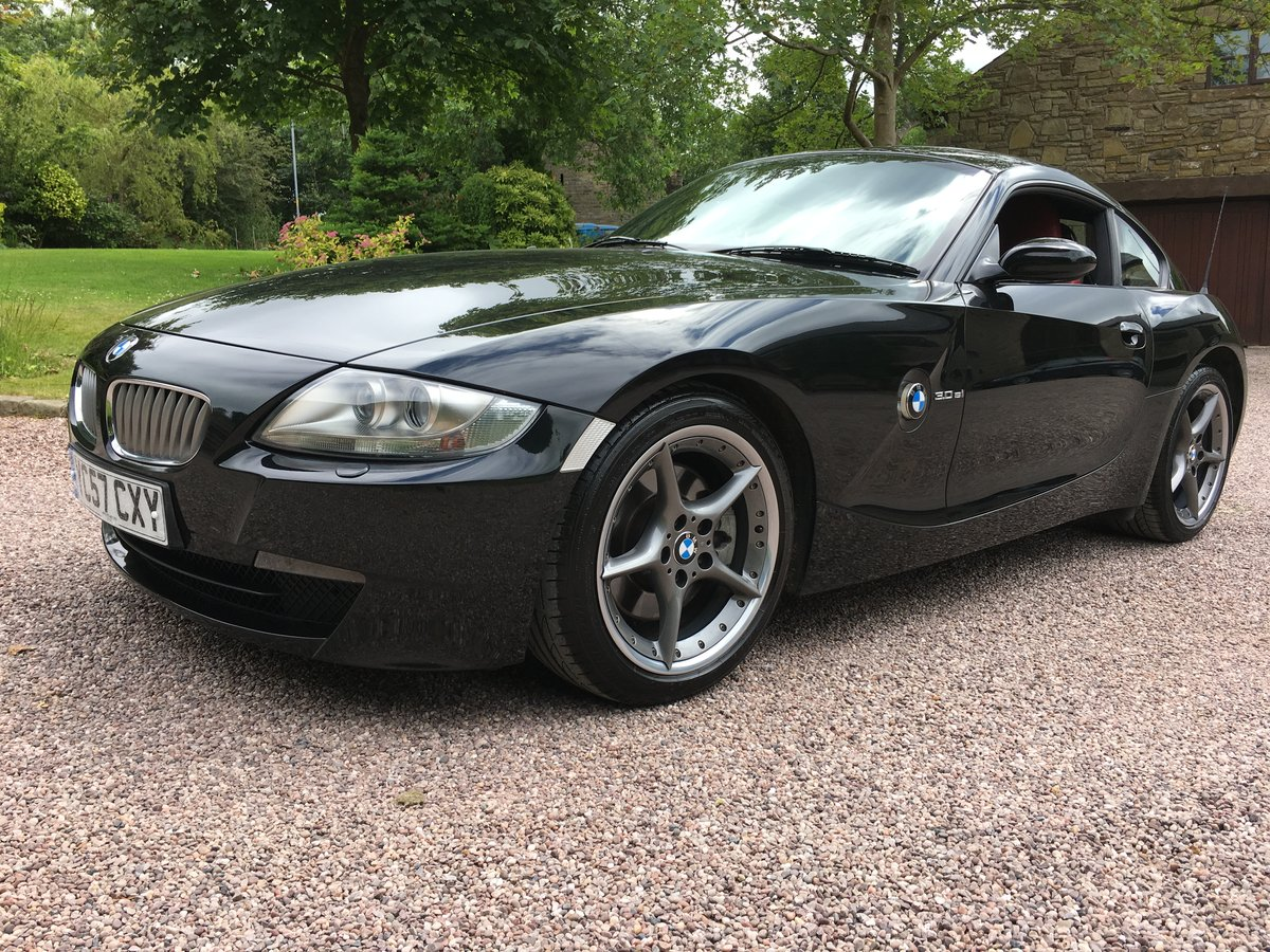 2007 BMW Z4 3.0SI SPORT COUPE 6 SPEED INDIVL LEATHR FSH         For Sale (picture 1 of 6)