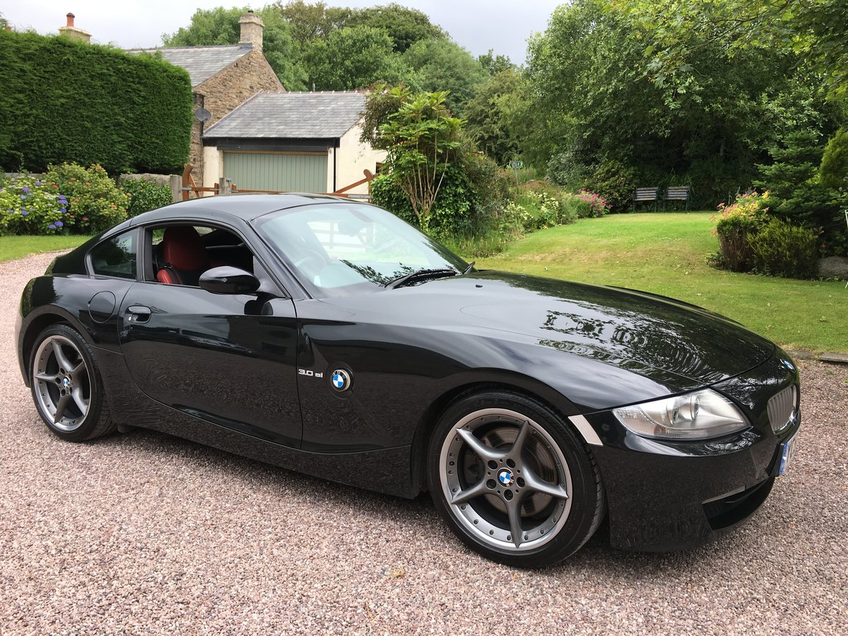 2007 BMW Z4 3.0SI SPORT COUPE 6 SPEED INDIVL LEATHR FSH         For Sale (picture 2 of 6)