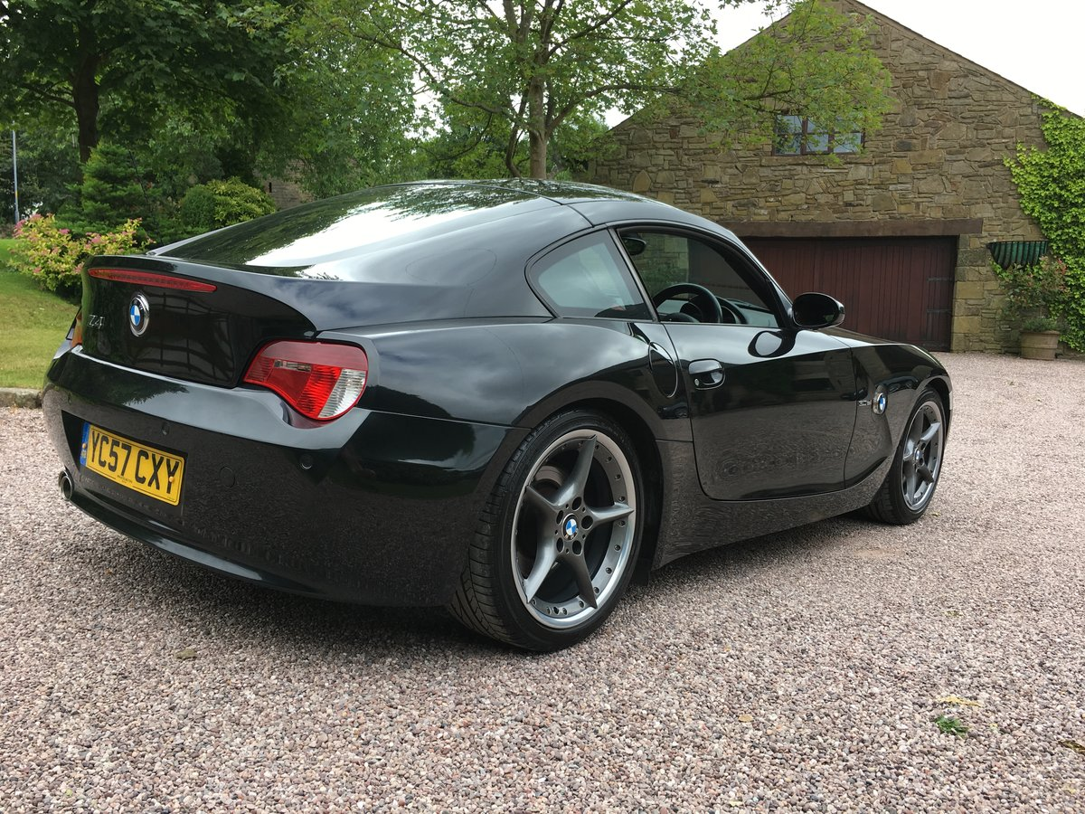2007 BMW Z4 3.0SI SPORT COUPE 6 SPEED INDIVL LEATHR FSH         For Sale (picture 3 of 6)