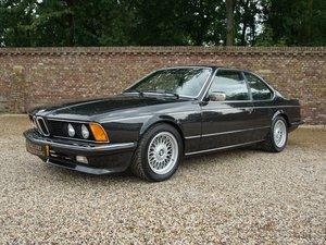 1987 BMW 635 CSI Swiss car, only 126.188 km, sunroof, AC, superb