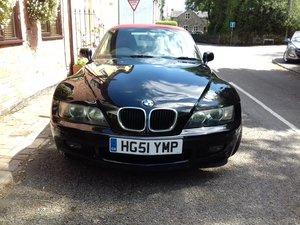 2001 BMW Z3 1.9 For Sale