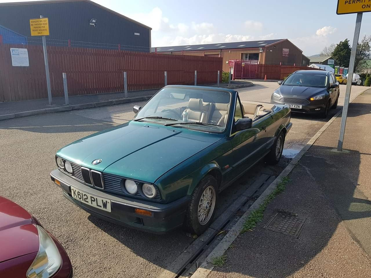 1992 BMW E30 318 Cabriolet For Sale (picture 1 of 4)