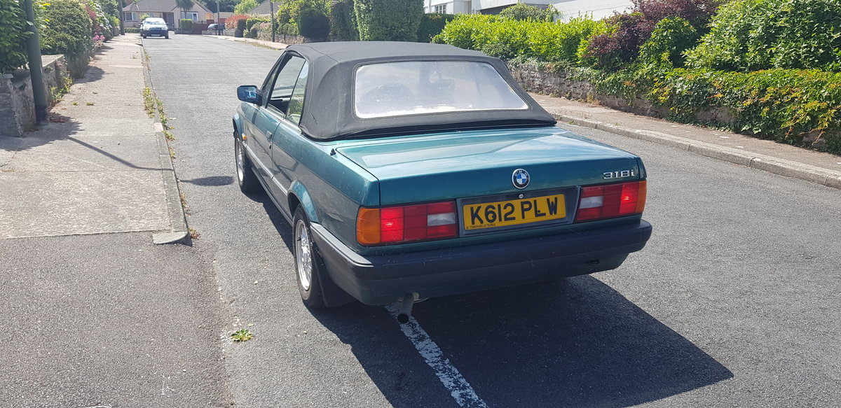 1992 BMW E30 318 Cabriolet For Sale (picture 2 of 4)