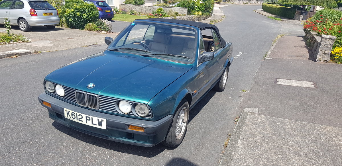 1992 BMW E30 318 Cabriolet For Sale (picture 4 of 4)