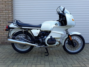 1983 BMW R100RS with 27,581 miles Rare Jahre White