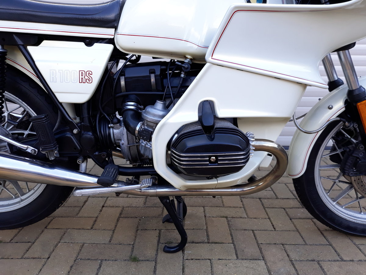 1983 BMW R100RS with 27,581 miles Rare Jahre White  For Sale (picture 3 of 6)
