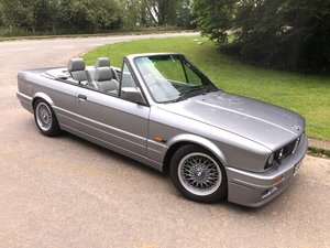 1989 BMW 3 SERIES E30 325i MOTORSPORT CONVERTIBLE 1 OF 250