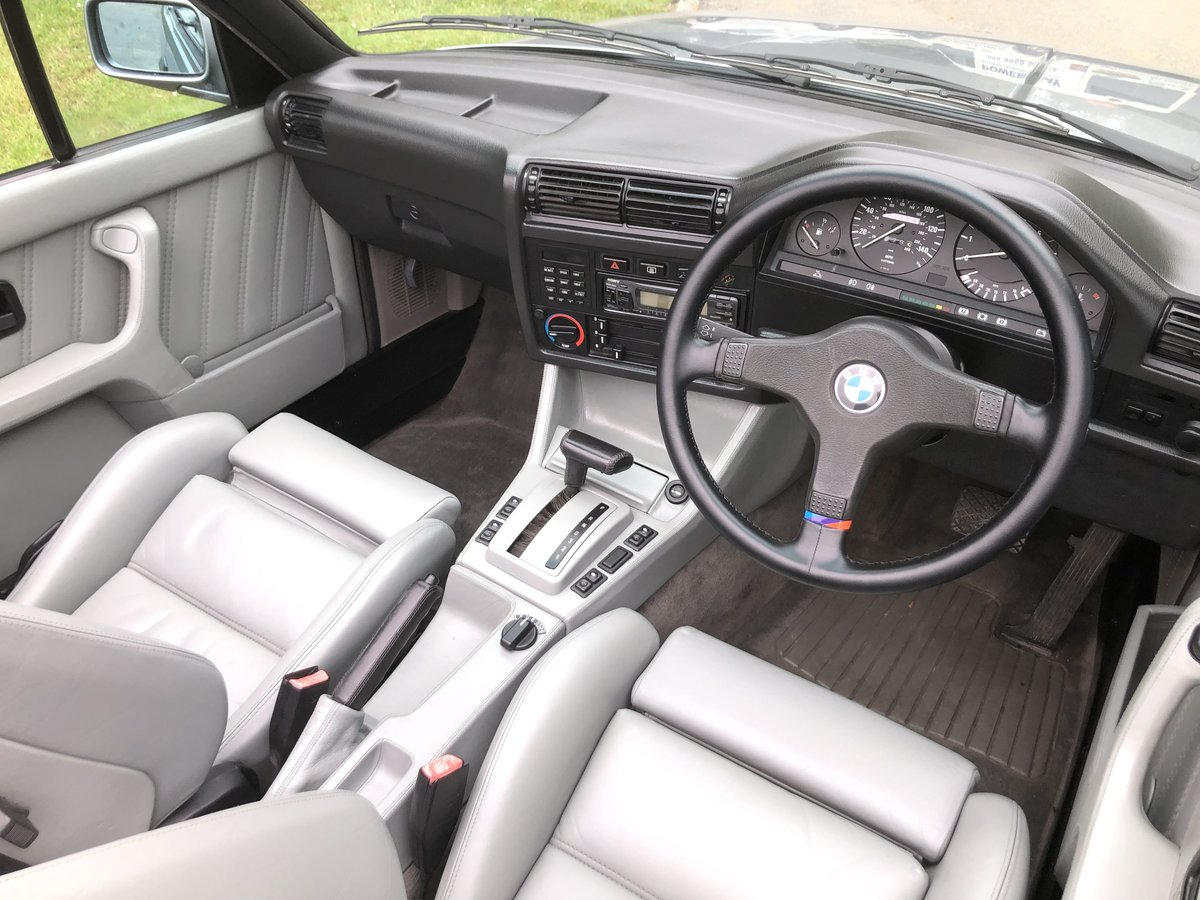 1989 BMW 3 SERIES E30 325i MOTORSPORT CONVERTIBLE 1 OF 250 For Sale (picture 4 of 6)